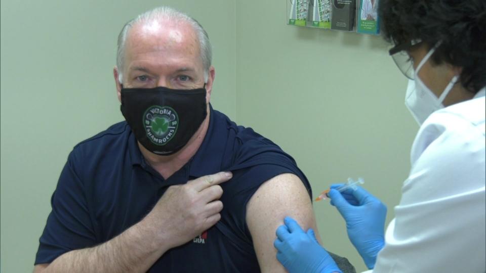 John Horgan vaccine