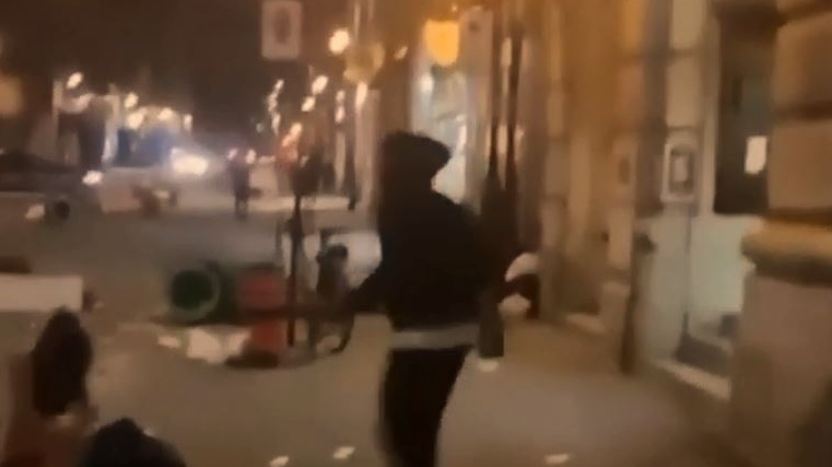Police release video of Old Port riot