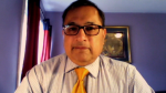 York Region's Medical Officer of Health, Dr. Karim Kurji on Fri. April 16, 2021 (Mike Arsalides/CTV News)