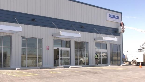 SARCAN Recycling's new location at 2900 Jasper Avenue in Saskatoon. (Miriam Valdes-Carletti/CTV Saskatoon)