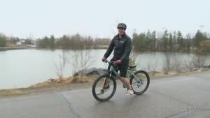 Explore Sudbury park's cycling track, playground