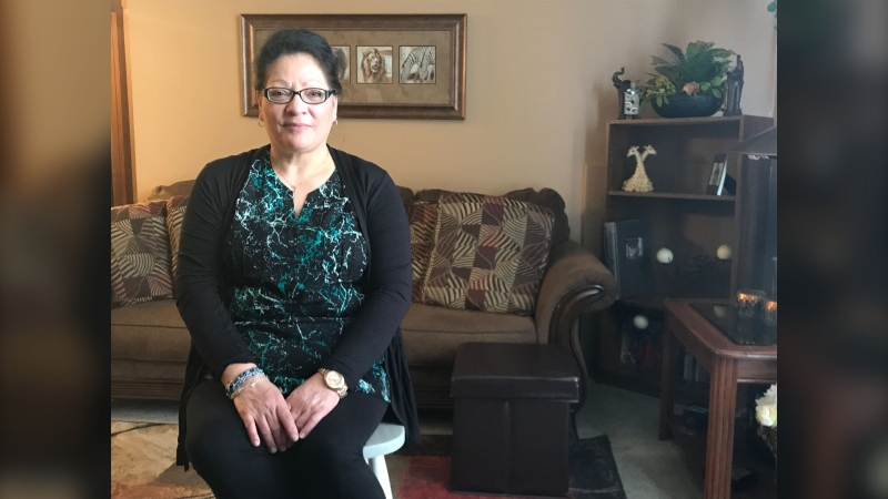 A photo of Sherlynn Delaney who's filed a Labour Board complaint against CUPE Local 204. (Source: Josh Crabb/CTV News)