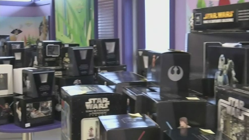 Star Wars memorabilia auction for Gilda's Place