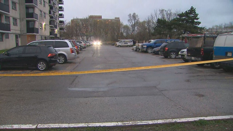 Toronto police are investigating a fatal shooting on near Jane Street, north of Lawrence Avenue.
