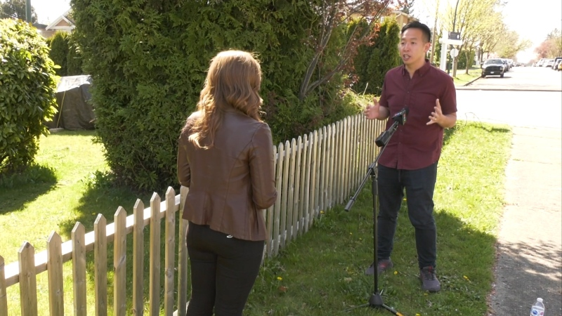 Man faces challenges while reporting hate crime