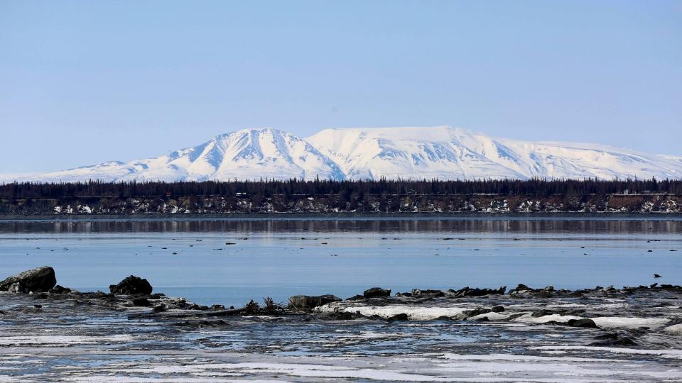 Mount Susitna in Alaska