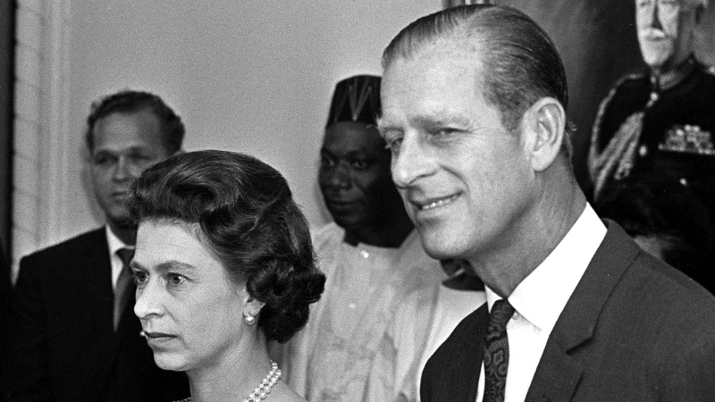 Queen Elizabeth and Prince Philip at Goverment House June 30, 1970. (CP PHOTO/Charles Mitchell)