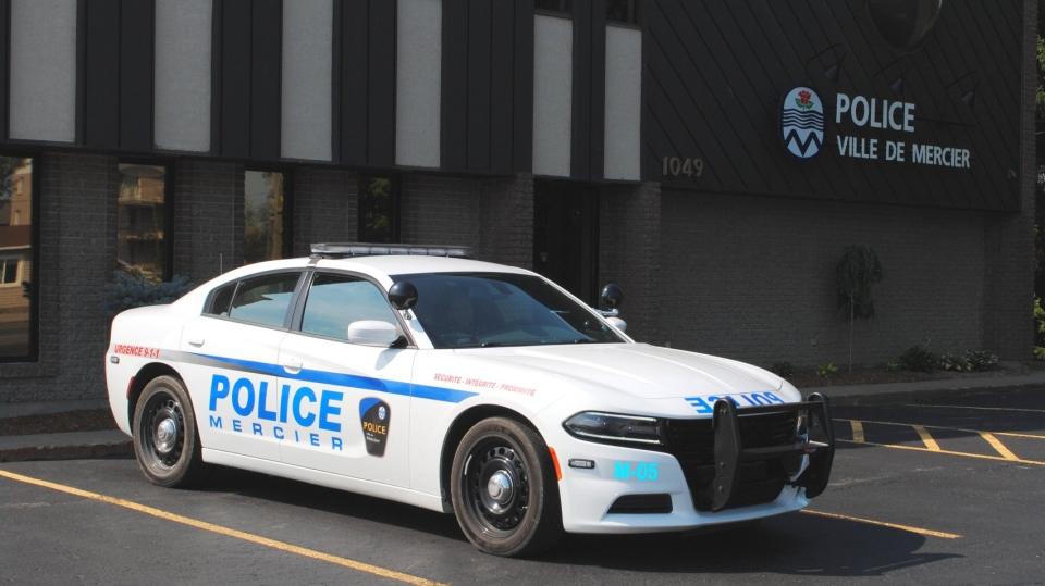 Mercier Police cruiser