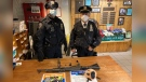 New York police say they confiscated an AK-47 from a teen at a Times Square subway station. (Photo: New York Police Department)