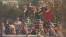 Hyland dancers
