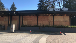 Prospect Point is one of two Stanley Park restaurants petitioning the B.C. Supreme Court to stop the Vancouver Park Board's plan to reintroduce a bike lane on Stanley Park Drive.