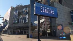 Canucks resume playing Sunday