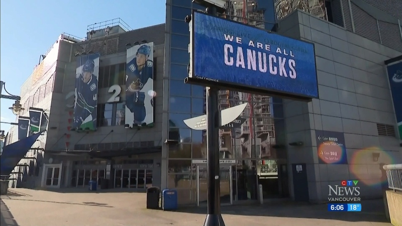 Canucks resume playing Sunday