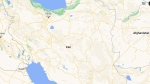 Map of Iran. (Google Maps)