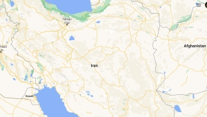 Map of Iran. (Google Maps)