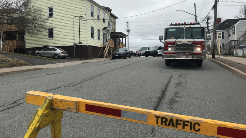 A 50-year-old Saint John man has been taken into police custody, following a nearly 10 hour long standoff Sunday morning. Saint John police say shortly after 2 a.m., officers received reports of a person with a weapon at a home on Ludlow Street West. (Photo via Laura Lyall / CTV Atlantic)