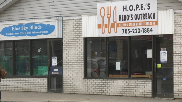 Acting as a lounge, HOPE's Kitchen would allow homeless people to come inside off the streets and get meals but owners have decided to close the doors. Apri 18/21 (Eric Taschner/CTV News Northern Ontario)
