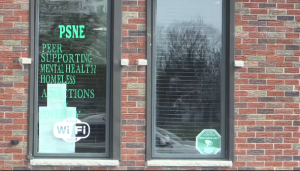 PSNE in St. Thomas, Ont. is closing its drop-in centre by May 1st, 2021(Brent Lale/CTV News)
