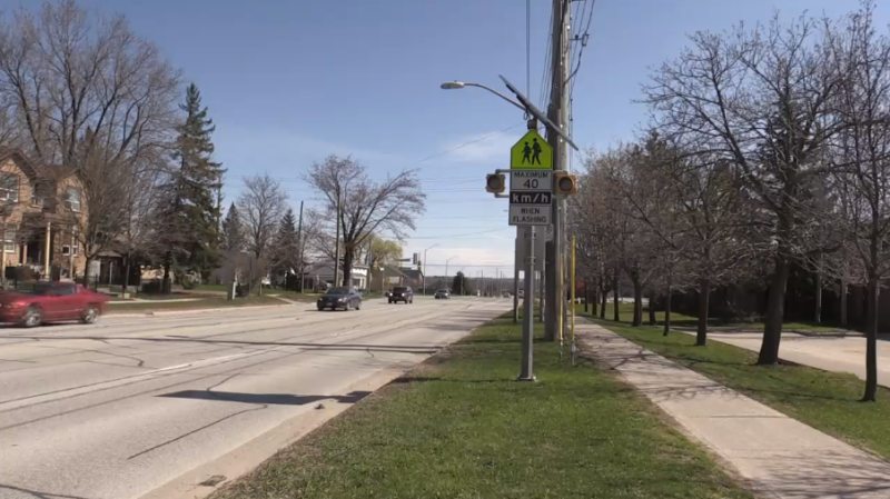 Barrie city councillors have rejected a call to study reducing speed limits (Luke Simard/CTV News)