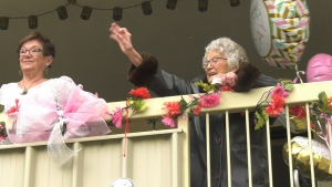 "Margret ""Peggy"" Reilly celebrated her 103rd birthday. (Courtesy: Cheryl Perkins)"