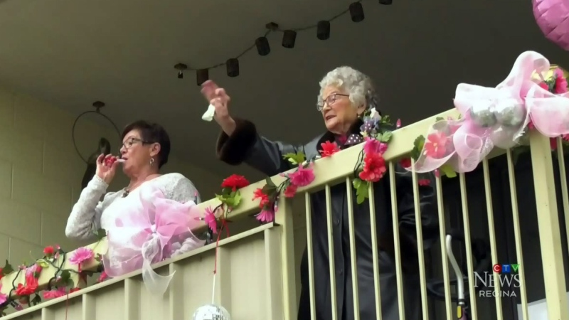 Regina family pulls off 103rd birthday surprise