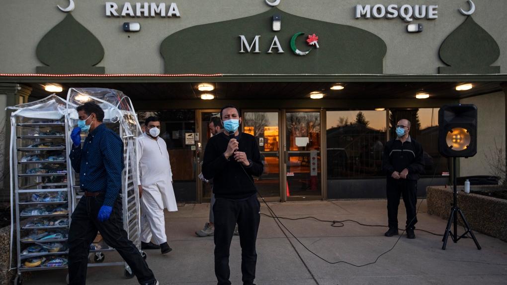Asad Behrawa, prayer, Ramadan, Edmonton