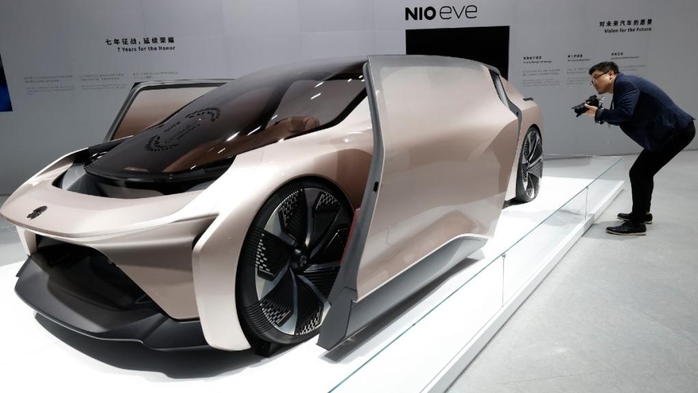 NIO eve concept car