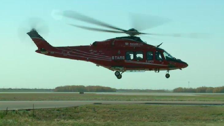 STARS Air Ambulance Saskatoon