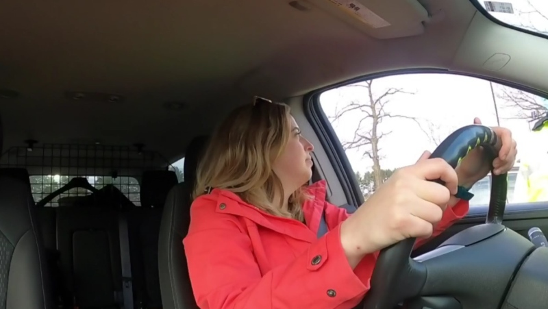CTV News reporter Kelly Greig