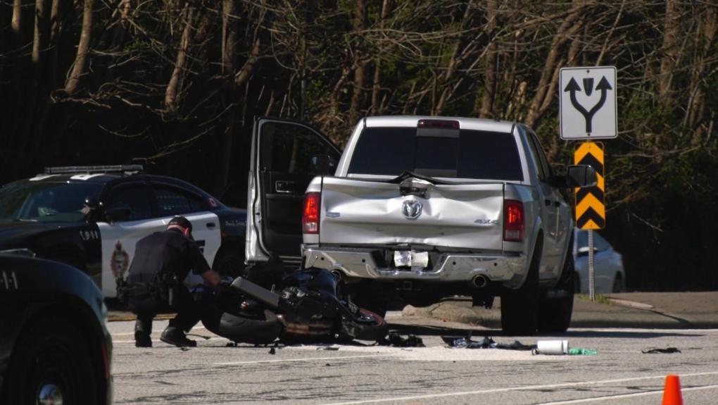 Barnet Highway crash