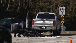 Police in Port Moody say speed is believed to be a factor in a serious crash on April 18, 2021.
