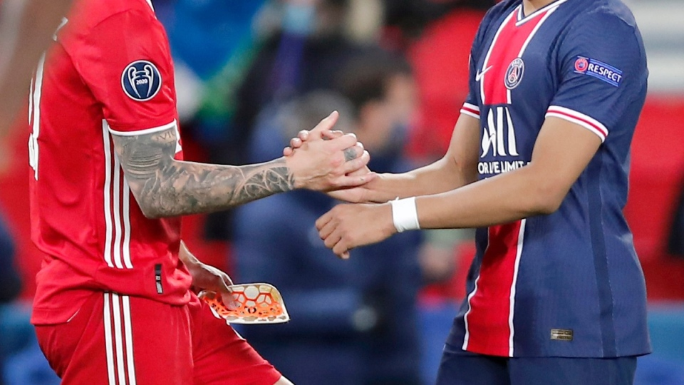 PSG and Bayern Munich play in Paris