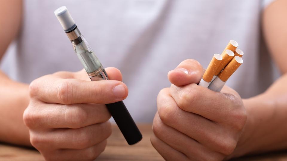 vape, tobacco cigarette