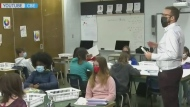 Grades 7-12 return to at-home learning