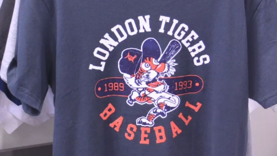 London Tigers T-Shirt at Source Teamworks.