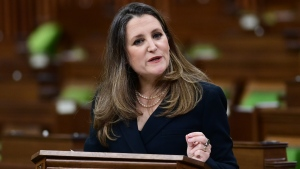 'Need to conquer COVID': Freeland unveils budget