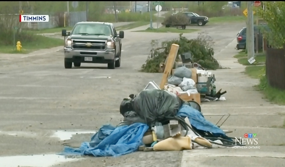 Timmins spring clean