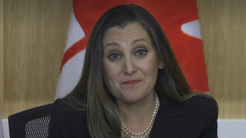 Power Play: Freeland on 2021 federal budget
