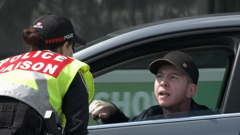 New interprovincial checkpoints snarl traffic