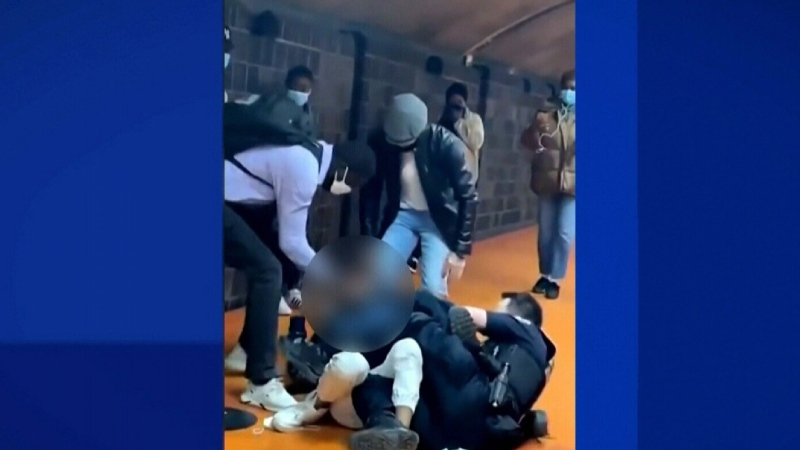 STM investigating violent video