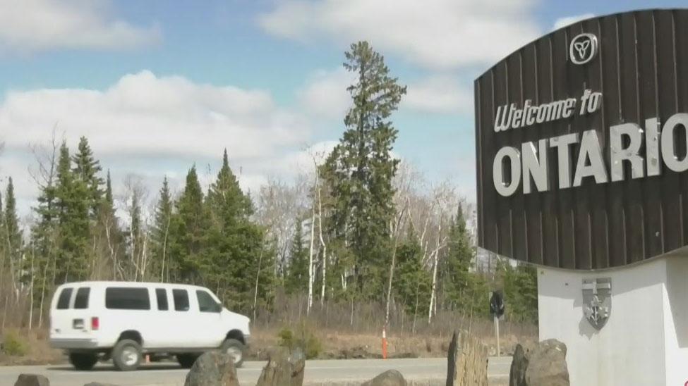 Manitoba-Ontario border