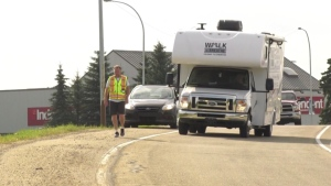 Chris Sadleir will walk 506 km from Lethbridge to Edmonton in support of the Lung Association of Alberta.