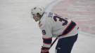 Pats' forward Carson Denomie, playing in the Regina WHL hub, has five games left is his junior hockey career. (Claire Hanna/CTV Regina)
