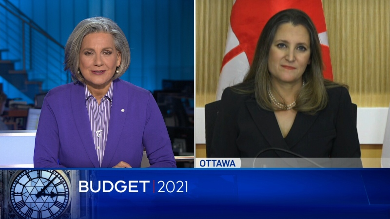 Full interview: One-on-one with Chrystia Freeland