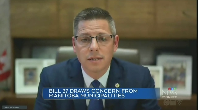 Mayor Bowman speaks on changes to City charter