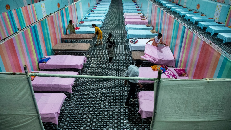 India COVID-19 beds