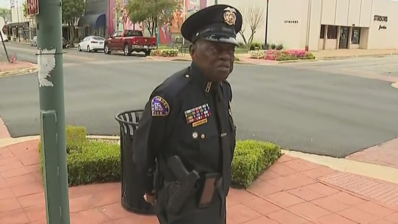 91-year-old Arkansas police officer