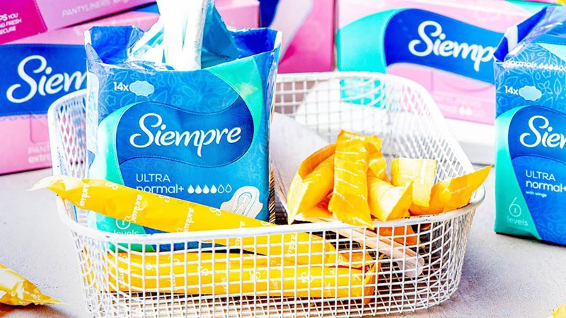 Lidl Ireland will offer free menstrual products to women and girls as part of a new initiative targeting period poverty. (Lidl / CNN)