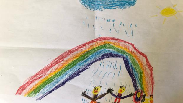 Nolan Perrier, 8 years old, Arc-en-ciel School, Orleans