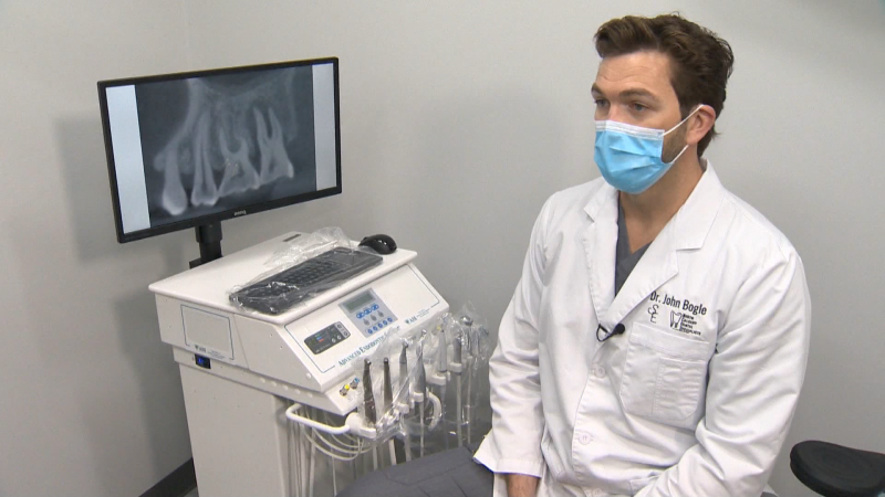 April is Oral Health Month. We talk to an endodontist at North Calgary Dental Specialists about cutting edge technology for patients care